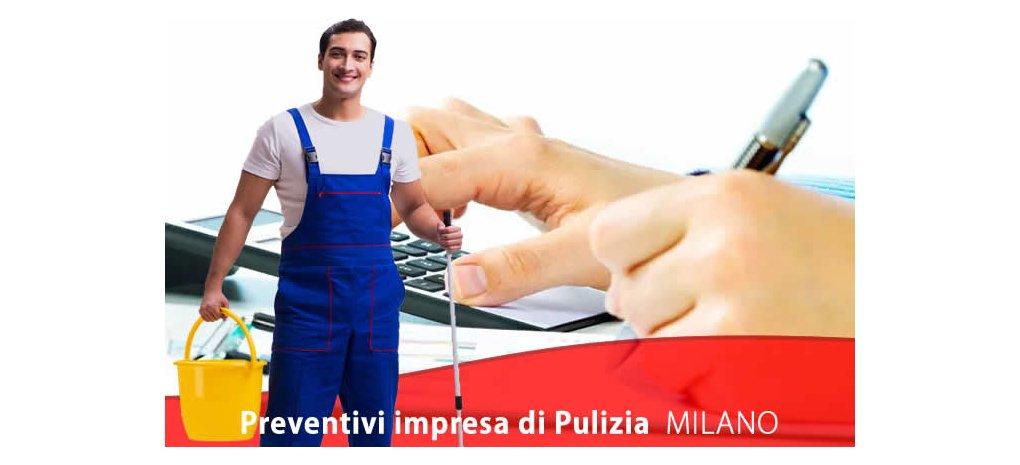 Preventivi impresa di pulizie Milano