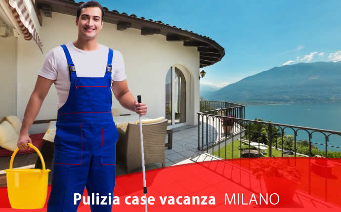 Pulizia case vacanza Viale Murillo Milano