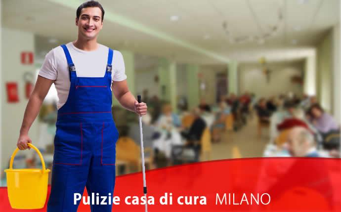 Pulizie Casa di Cura Quartiere degli Olmi Milano
