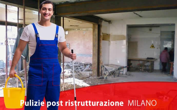 Pulizie post ristrutturazione Bullona Milano